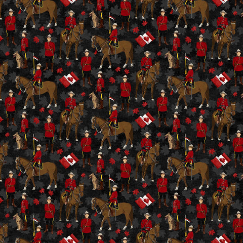 Canadian Classics Mounties on Black
