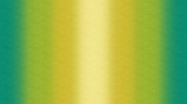 Dream Weaver Quilt Fabric by Deborah Edwards for Northcott Ombré Green Yellow