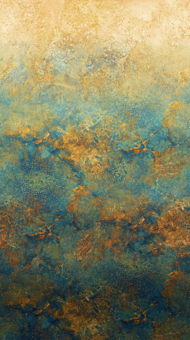 Northcott Stonehenge Gradations Ombré Oxidized Copper Quilt Fabric