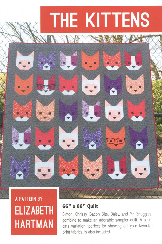 The Kittens Quilt Pattern