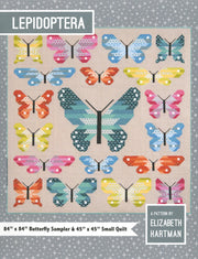 Lepidoptera Sampler Quilt Pattern by Elizabeth Hartman Butterflies and Moths