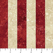 Swatch of Stonehenge Oh Canada Stripes by Northcott