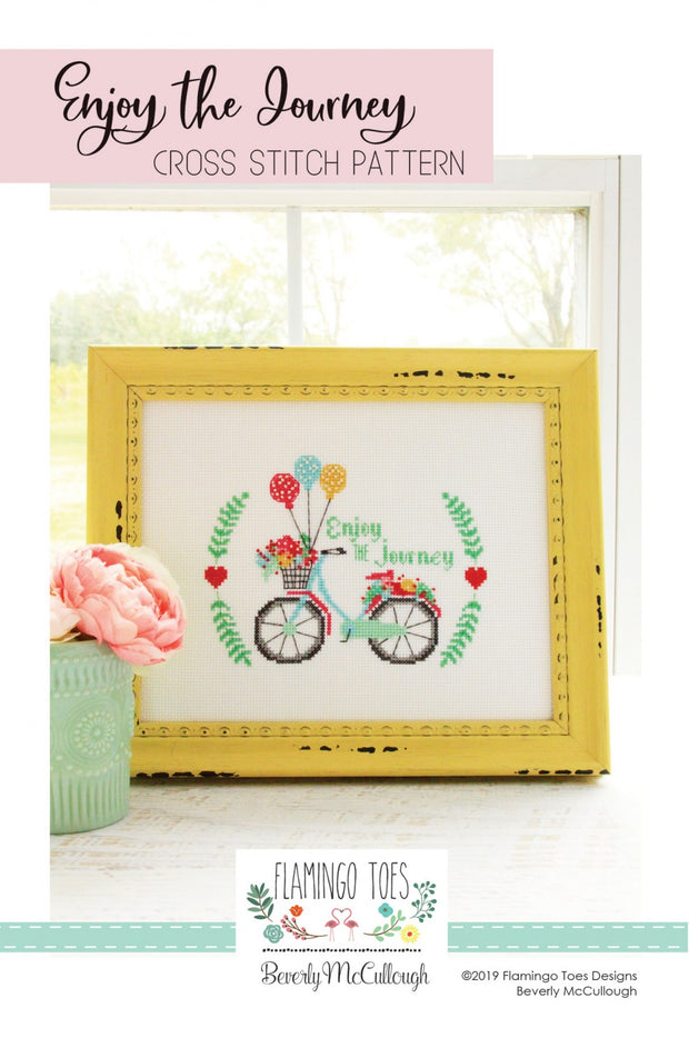 Enjoy the Journey Counted Cross Stitch Pattern