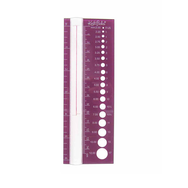 Needle Size Finder & Stitch Counter