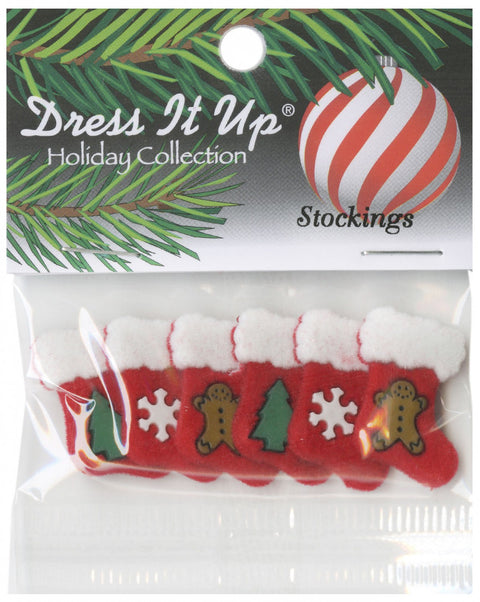 Dress It Up Christmas Stocking Buttons