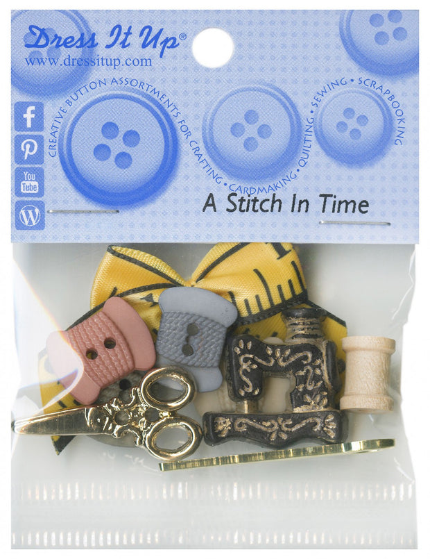 Dress It Up Craft Buttons A Stitch In Time Assortment