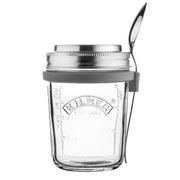 Kilner Breakfast Glass Jar Set with Spoon