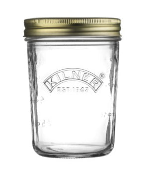 Kilner Wide Mouth Preserve Jar Glass .35L