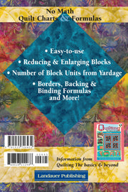 No Math Quilt Charts & Formulas - Softcover