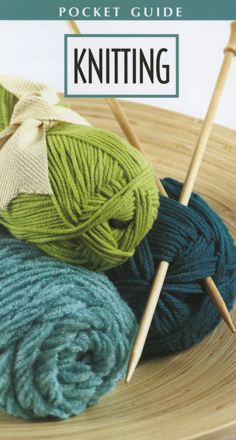 Knitting Pocket Guide  Softcover Leisure Arts Knitting