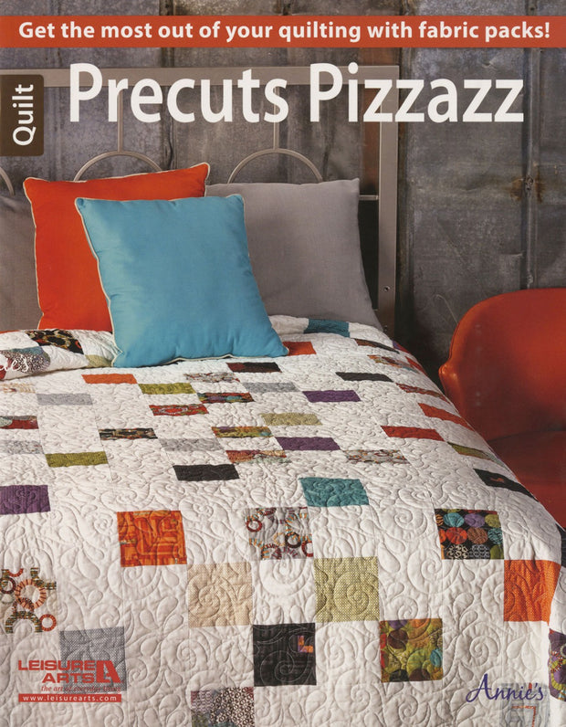 Leisure Arts Annie's Precuts Pizzazz Quilt Book Softcover