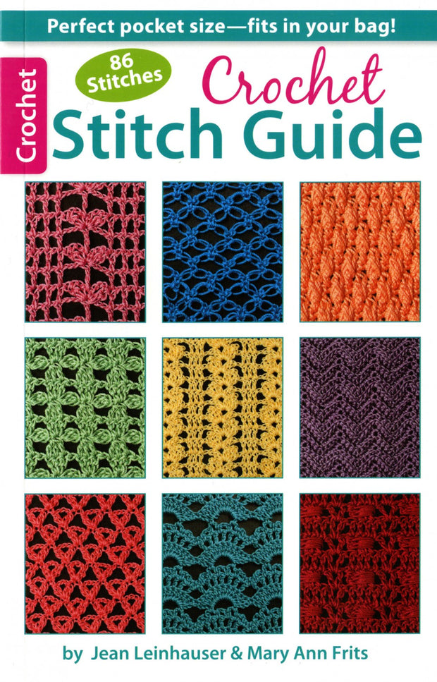 86 Stitches Crochet Stitch Guide book by Rita Weiss and Jean Leinhauser