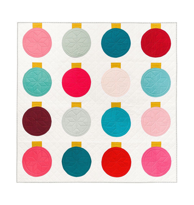 Retro Ornaments Quilt Pattern