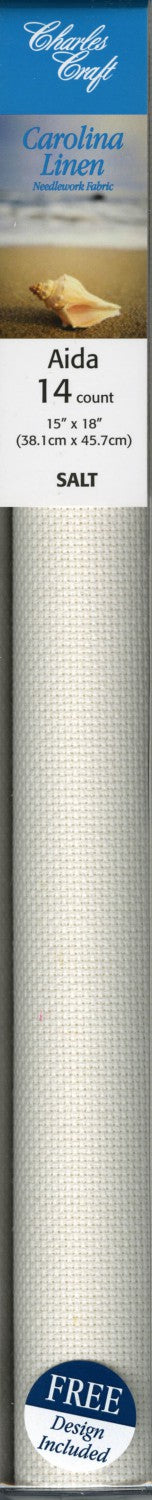 14ct Carolina Linen Aida Cloth Salt