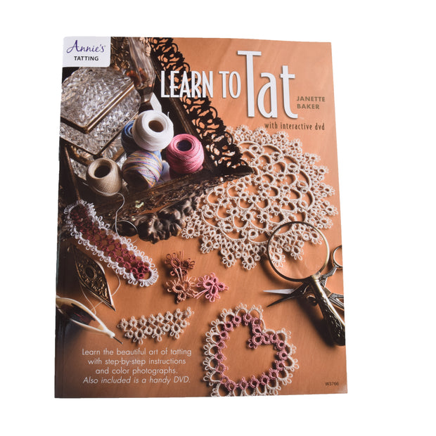 Learn To Tat Book w/ DVD