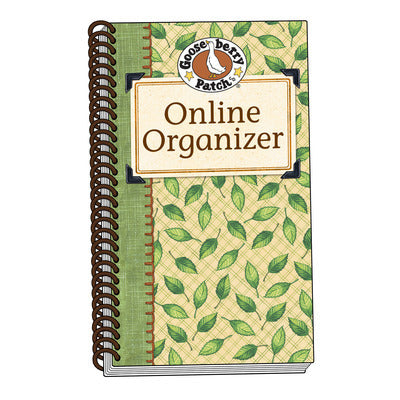 Password Organizer Green Leaf (Softcover)