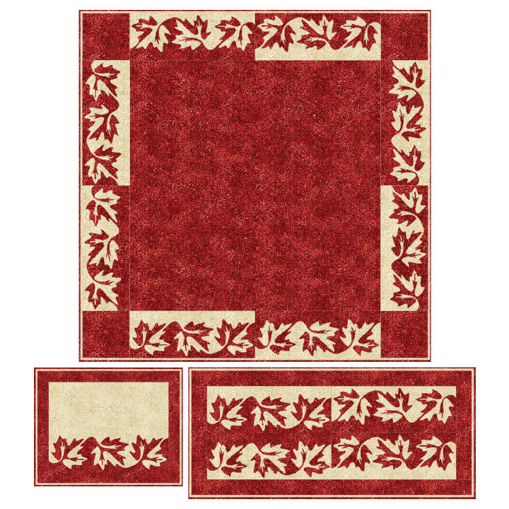 Canadian Maple Placemat Duet Quilt Pattern