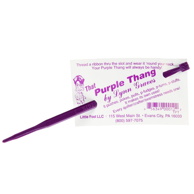 That Purple Thang Sewing Tool Accessory by Lynn Graves