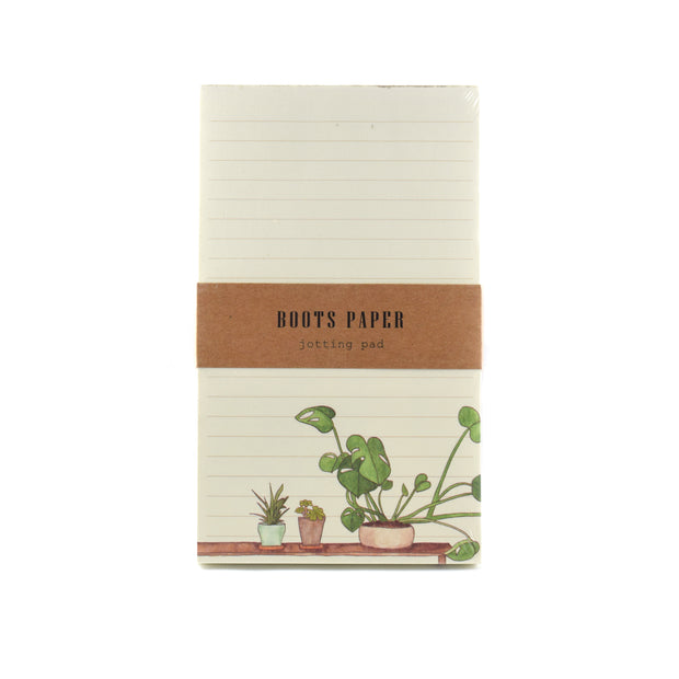Plant Illustrated Jotting Pad