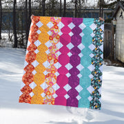 Paper Cuts Throw Quilt Kit