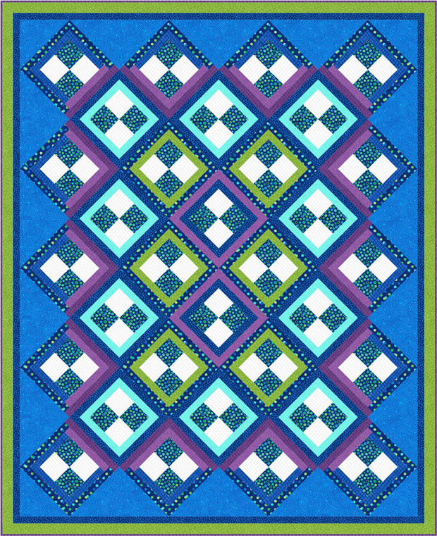 Four Patch Party Quilt Pattern