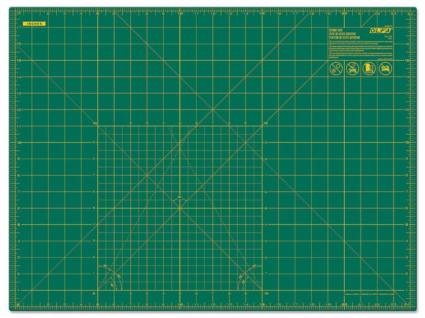 Cutting Mat with Grid 18in x 24in *NOT included in free shipping promo