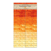 2.5in Strips Stonehenge Gradations Sunglow 40pc