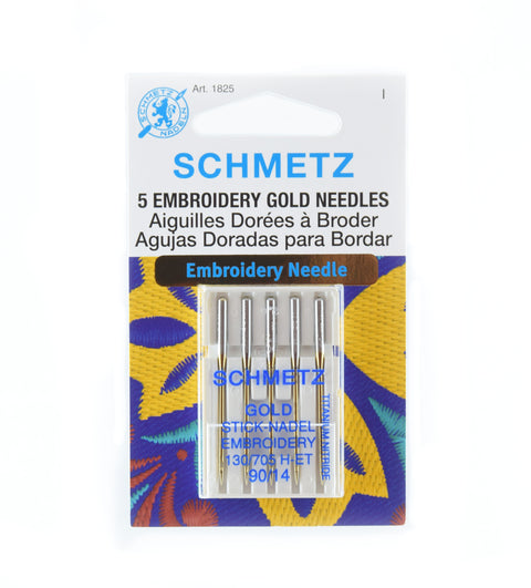 Gold Titanium Embroidery Machine Needles