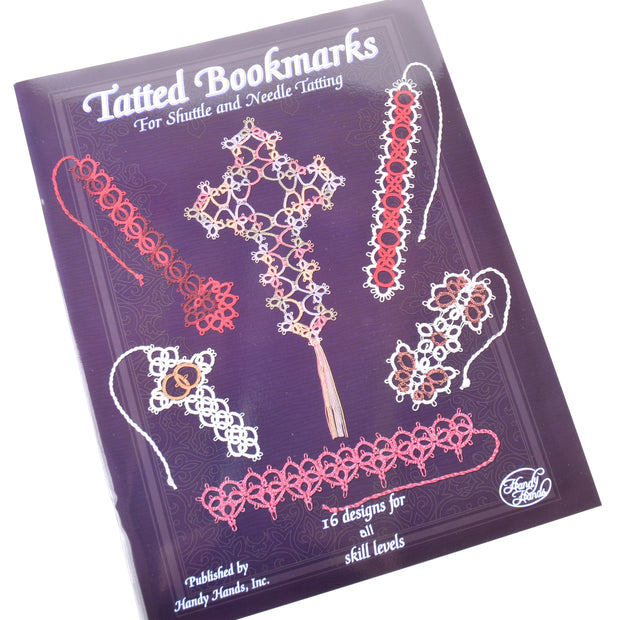 Handy Hands Tatted Bookmarks Tatting Book 16 Designs for All Skill Levels