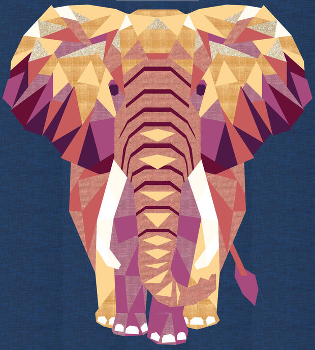 Elephant Abstractions Quilt Pattern