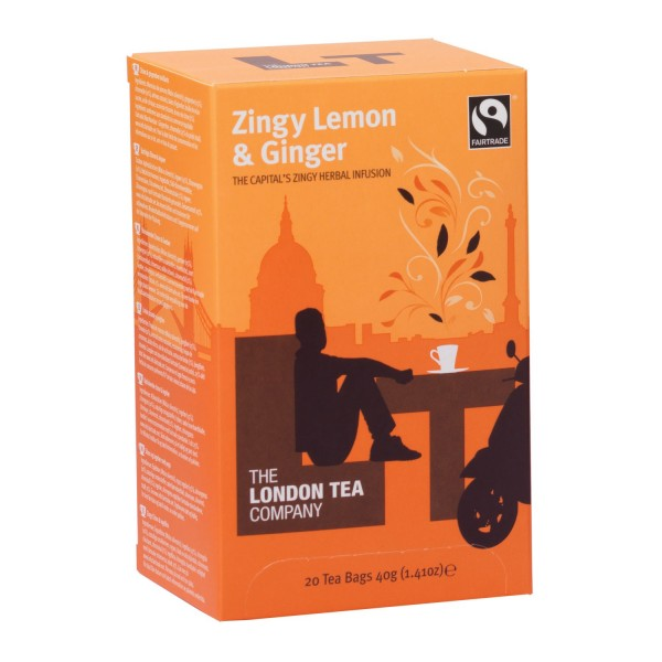 London Tea Company Zingy Lemon Ginger Orange