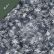 Digital Cuddle® Minky Snowflake Denim