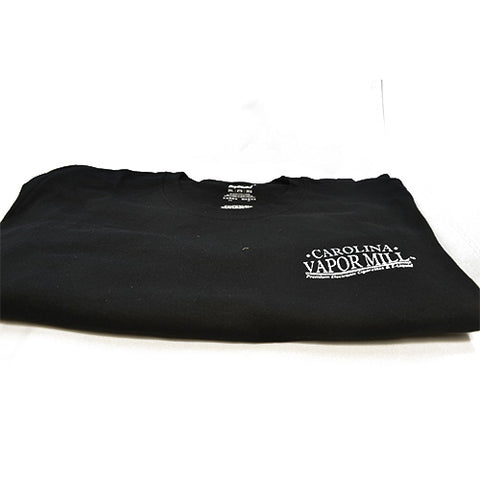 CVM Black T-Shirt - Carolina Vapor Mill