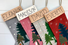 Cabin in the Woods Christmas Stocking