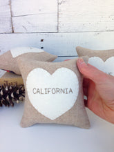 State Love Pillow