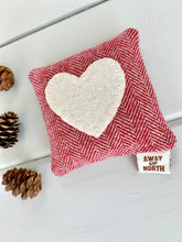Rustic Balsam Heart Pillow