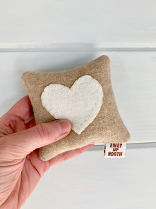 Personalized Wedding Gift - Balsam Heart Pillow