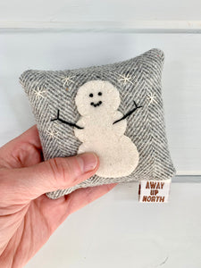 Snowman Balsam Pillow