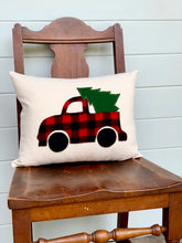 Farmhouse Truck Christmas Pillow