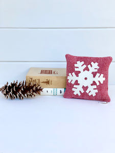 Snowflake Balsam Pillow
