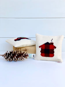 Log Cabin Balsam Pillow