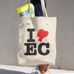I LV EC(Cotton Tote Bag)