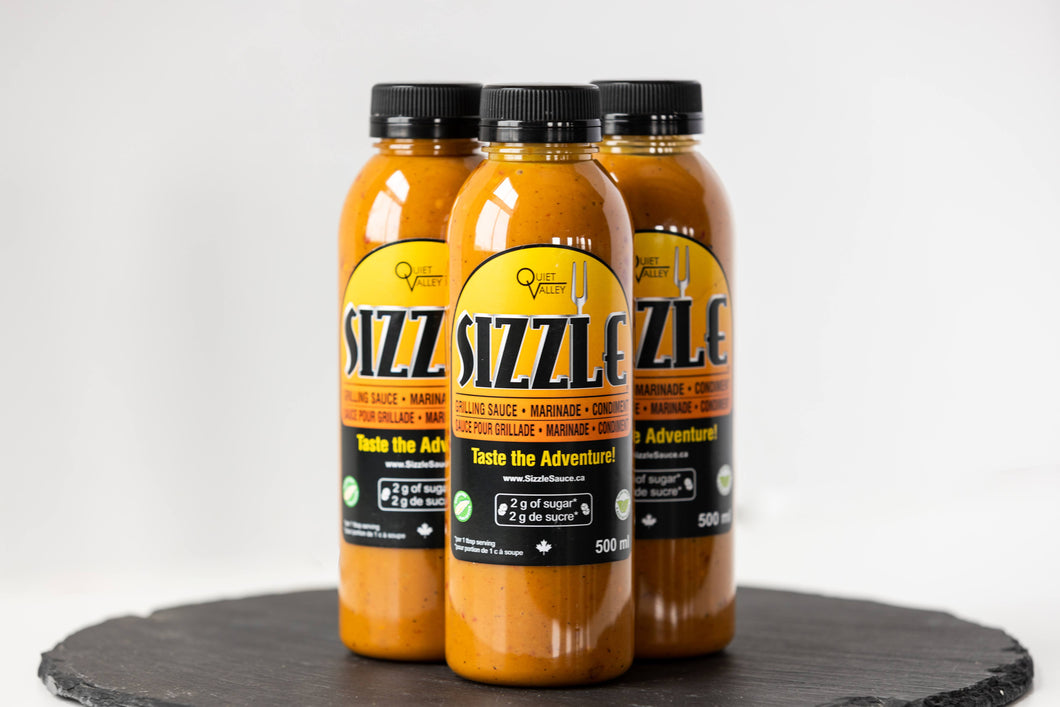 Sizzle Sauce 3 Pack