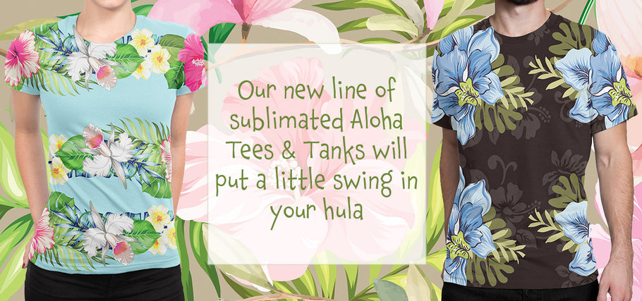 Introducing Our New Collection of Aloha Tees
