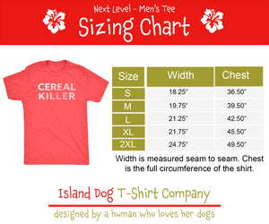 Vintage Seashell Illustration Guy's' Tee - Men's Ultra Soft Comfort Short Sleeve Seashell Tee - Island Dog T-Shirt Company