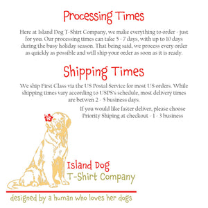 Vintage Seashell - Men's Ultra Soft Comfort Short Sleeve Tee - Retro Shell T-shirt for Him - Island Dog T-Shirt Company