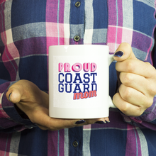 Proud Coast Guard Mom 11 ounce Coffee Mug - Tea Cup - Hot Chocolate Mug - Island Dog T-Shirt Company