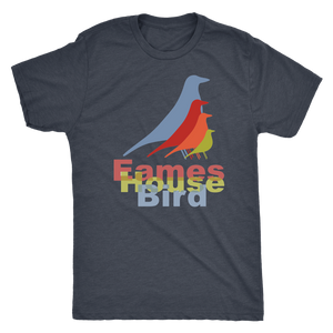 Eames House Bird - Guy's Retro Shirt - Vintage Tee for Him - 1950's Iconic Bird Design - Island Dog T-Shirt Company