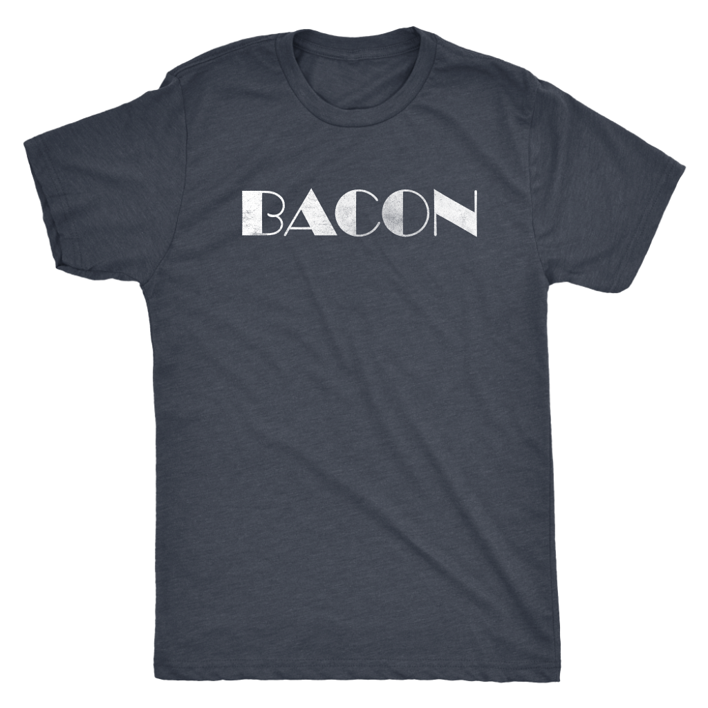 Bacon - Funny Attitude T-Shirt - Men's Sarcastic Foodie Ultra Soft Comfort Tee - Island Dog T-Shirt Company