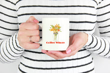 Coffee Whore - Funny Coffee Mug - Sarcastic Coffee Cup - 11 oz 2-Tone Color Accent Mugs - Island Dog T-Shirt Company
